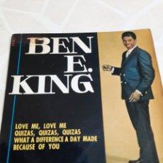 Discos de vinilo: BEN E. KING. LOVE ME LOVE ME.. Lote 214752867