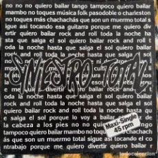 """Discos de vinilo: SINIESTRO TOTAL - QUIERO BAILAR UN ROCK & ROLL (12"""") (DRO) 2D-310 (1987) (VG+). Lote 214755493"""