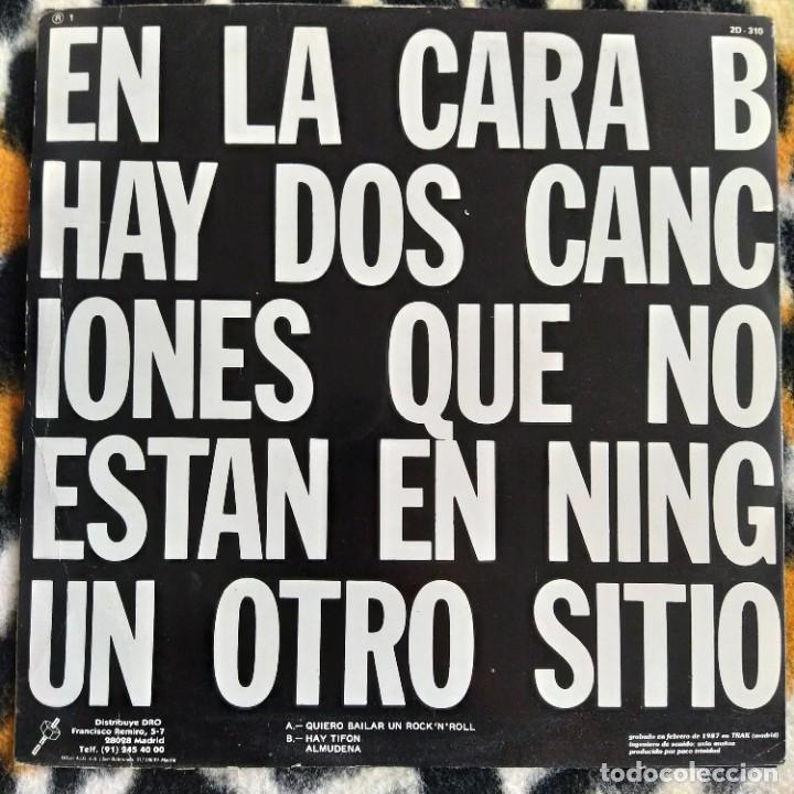 """Discos de vinilo: Siniestro Total - Quiero Bailar Un Rock & Roll (12"""") (DRO) 2D-310 (1987) (VG+) - Foto 2 - 214755493"""