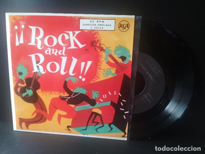 ELVIS PRESLEY Y OTROS. ROCK AND ROLL EP SPAIN 1987 PEPETO TOP (Música - Discos de Vinilo - EPs - Rock & Roll)