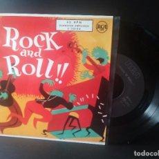 Discos de vinilo: ELVIS PRESLEY Y OTROS. ROCK AND ROLL EP SPAIN 1987 PEPETO TOP. Lote 214756651