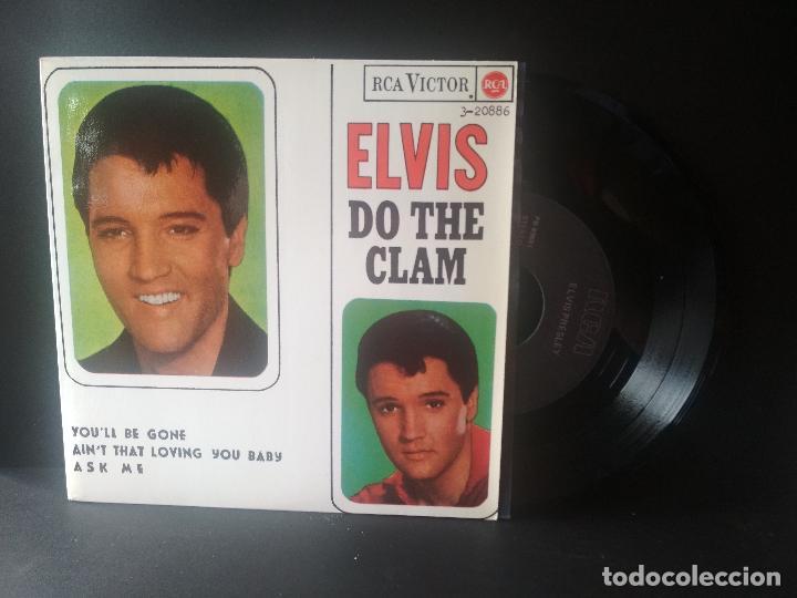 ELVIS PRESLEY DO THE CLAM + 3 EP SPAIN 1987 PEPETO TOP (Música - Discos de Vinilo - EPs - Rock & Roll)