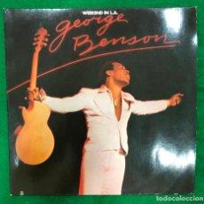 Discos de vinilo: GEORGE BENSON. WEEKEND IN L.A. WARNER BROS. DOBLE LP DE 1978 RF-8413 , BUEN ESTADO , PORTADA ABIERTA. Lote 214761487