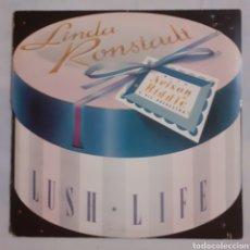 Discos de vinilo: LINDA RONDSTADT. LUSH LIFE. 960 387-1. EU 1984. DISCO VG+. CARÁTULA VG+ (LIGERO CUT OUT). Lote 214763735