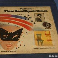 Discos de vinilo: EXPRO LP PAUL SIMON THERE GOES RHYMIN' SIMON USA 1973 CORRECTO. Lote 214763953