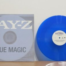Discos de vinilo: BLUE MAGIC - JAY Z - PHARRELL WILLIAMS - USA - VG+/VG++. Lote 214771786