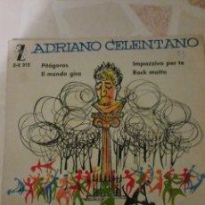 Discos de vinilo: ADRIANO CELENTANO. PITAGORAS. EP.. Lote 214773052