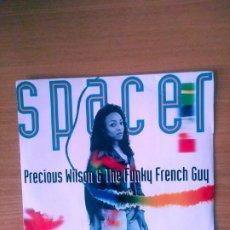 Discos de vinilo: PRECIOUS WILSON & THE FUNKY FRENCH GUY. SINGLE FRANCIA.. Lote 214820386
