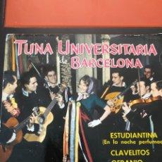 Discos de vinilo: DISCO VINILO TUNA UNIVERSITARIA DE BARCELONA. Lote 214833177