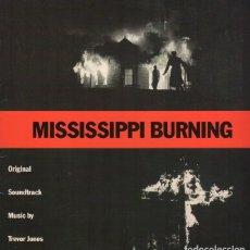 Discos de vinilo: MISSISSIPPI BURNING. BSO. LP. VINILO. TREVOR JONES.. Lote 214836436