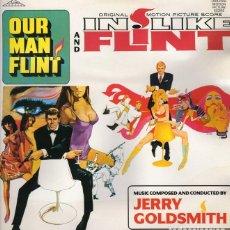 Discos de vinilo: OUR MAN FLINT. IN LIKE FLINT. LP BSO. Lote 214836718