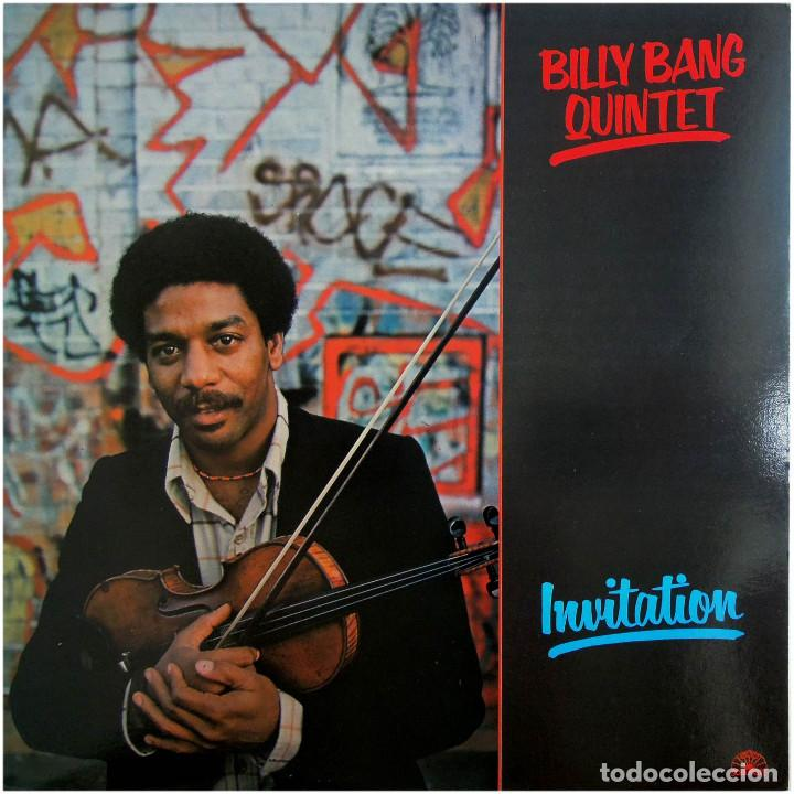 BILLY BANG QUINTET - INVITATION - LP ITALIA 1982 - SOUL NOTE SN 1036 (Música - Discos - LP Vinilo - Jazz, Jazz-Rock, Blues y R&B)