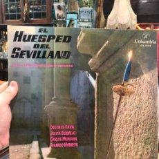 Discos de vinilo: LP EL HUESPED DEL SEVILLANO. Lote 214840523