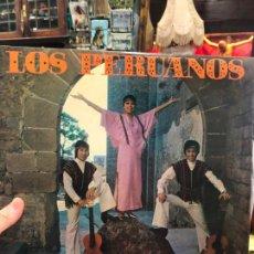 Discos de vinilo: LP LOS PERUANOS. Lote 214841037