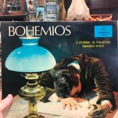 Discos de vinilo: LP BOHEMIOS - COROS CANTORES DE MADRID. Lote 214846596