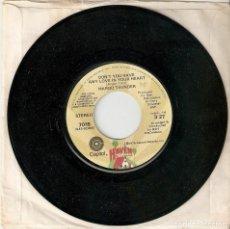 "Discos de vinilo: MARGO THUNDER 7"" USA IMPORTACION 45 DON´T YOU HAVE ANY LOVE 1975 SINGLE VINILO FUNK SOUL DISCO MIRA. Lote 214846998"