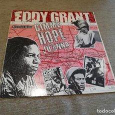 Discos de vinilo: EDDY GRANT-GIMME HOPE JO'ANNA. MAXI. Lote 214850850