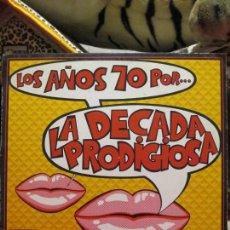 Discos de vinilo: LA DÉCADA PRODIGIOSA ?– LOS AÑOS 70 POR... LA DÉCADA PRODIGIOSA. Lote 214851197