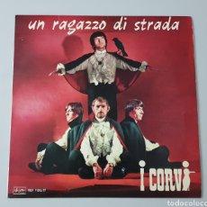 Discos de vinilo: LP I CORVI- UN RAGAZZO DI STRADA (ITALIA - ARISTON - 1966) GARAGE BEAT ITALIANO, TOP COPY!!. Lote 214858701