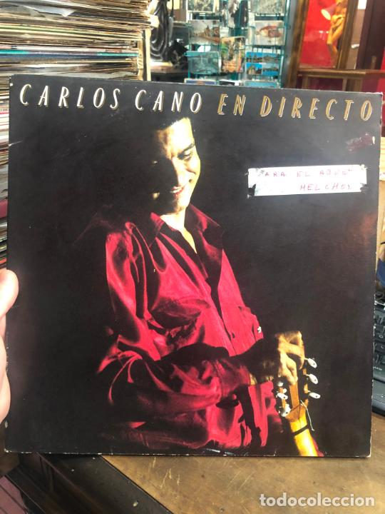 LP CARLOS CANO EN DIRECTO (Música - Discos - LP Vinilo - Otros estilos)
