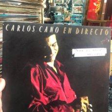 Disques de vinyle: LP CARLOS CANO EN DIRECTO. Lote 214896350