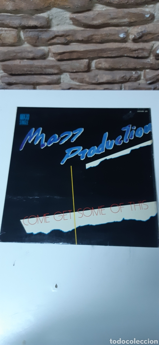 MASS PRODUCTION - COME GET SOME OF THIS (Música - Discos de Vinilo - Maxi Singles - Funk, Soul y Black Music)