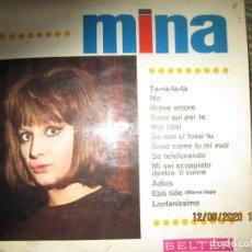 Discos de vinilo: MINA - MINA LP - ORIGINAL ESPAÑOL - BELTER RECORDS 1967 - MONOAURAL MUY BUEN ESTADO -. Lote 214905250
