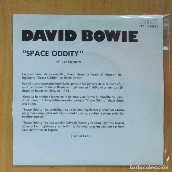 DAVID BOWIE - SPACE ODDITY - PROMO - SINGLE (Música - Discos - Singles Vinilo - Pop - Rock - Extranjero de los 70)