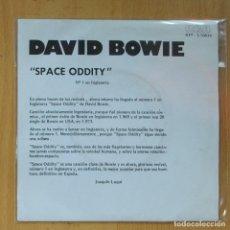 Discos de vinilo: DAVID BOWIE - SPACE ODDITY - PROMO - SINGLE. Lote 214923275