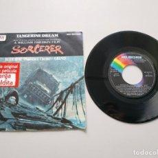 Disques de vinyle: 0820- TANGERINE DREAM BSO CARGA MALDITA GRIND ES 1977 VIN 7 SINGLE POR VG DIS VG+. Lote 214926461