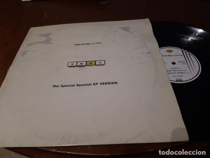 PAUL VAN DYK ?– 45 RPM, THE SPECIAL SPANISH EP VERSION-LP-ESPAÑA-1995- MAX MUSIC ?– NM 1072 EP (Música - Discos - LP Vinilo - Techno, Trance y House)