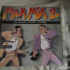 Disques de vinyle: MAX MIX 2 ( EL SEGUNDO MEGAMIX ESPAÑOL ) MIKE PLATINAS - JAVIER USSIA LP 33 RPM. Lote 214937550