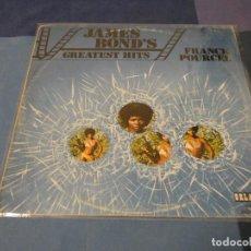 Discos de vinilo: EXPRO LP ESPAÑOLJAMES BOND GREATEST JAMES BOND HITS CIRCULO DE LECTORES ESPAÑA 72. Lote 214944785
