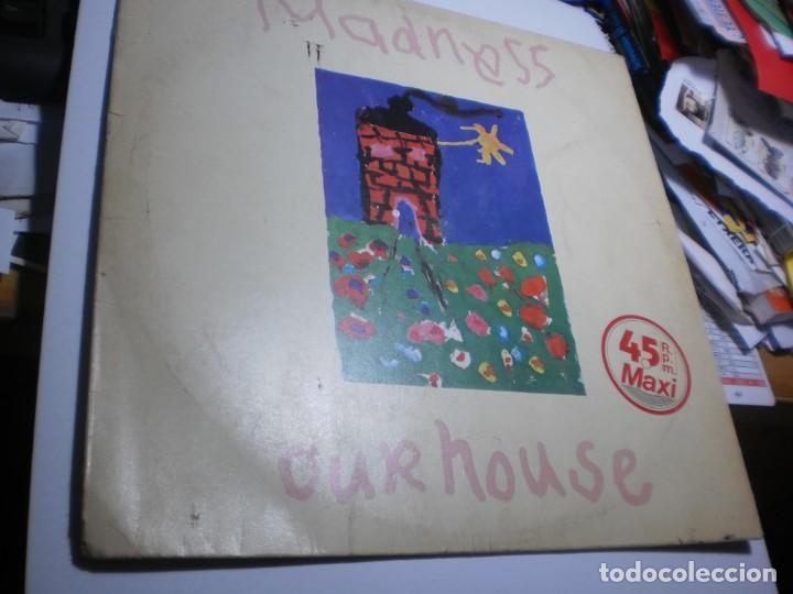 MAXI SINGLE. MADNESS. OUR HOUSE. STIFF RECORDS 1983 SPAIN (PROBADO Y BIEN, BUEN ESTADO) (Música - Discos de Vinilo - Maxi Singles - Pop - Rock - New Wave Internacional de los 80)