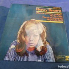 Discos de vinilo: EXPRO EP NANCY SINATRA QUE TE PARECE CARIÑO + 3 ESPAÑA 66 BUEN ESTADO. Lote 214962938