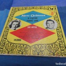 Discos de vinilo: EXPRO RARUNO RARO LP COUNTRY 10 PULGADAS 1953?JO STAFFORD AND FRANKIE LAINE LP OK. Lote 214963457