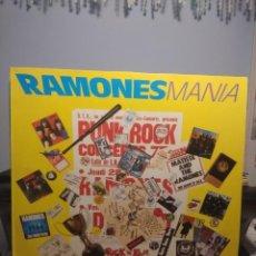 Discos de vinilo: DOBLE LP RAMONES MANIA ( 30 CANCIONES ). Lote 214969840
