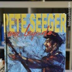 Discos de vinilo: PETE SEEGER, UNA LEYENDA- JAKUPI Y JURADO- ED.MUSIC COMICSCOLLECTION. Lote 214978767