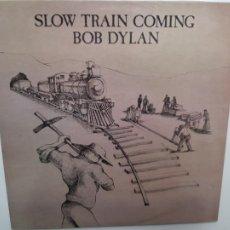 Discos de vinilo: BOB DYLAN- SLOW TRAIN COMING - SPAIN LP 1984- VINILO COMO NUEVO.. Lote 214979478