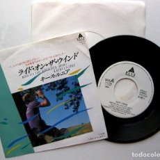 Discos de vinilo: KEITH L'NEIRE - RIDE ON THE WIND - SINGLE ALFA INTERNATIONAL 1985 PROMO JAPAN (EDICION JAPONESA) BPY. Lote 214982395