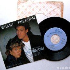 Discos de vinilo: WHAM! - FREEDOM / HEARTBEAT - SINGLE EPIC 1985 PROMO JAPAN (EDICION JAPONESA) BPY. Lote 214984420