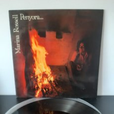 Discos de vinilo: MARINA ROSSELL. PENYORA... CBS. 1978. ESPAÑA. Lote 214990172
