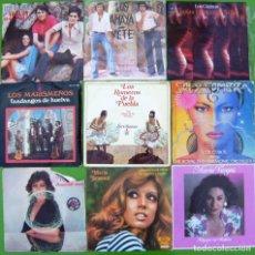 Discos de vinilo: LOTE 9 SINGLES FLAMENCOS (LOS DUENDES, AMAYA, MARISMEÑOS, MARIA JIMENEZ, MARIA VARGAS, MANUELA. Lote 215008517