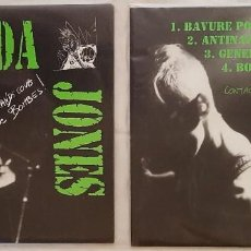Discos de vinilo: TAGADA JONES -A GRANDS COUPS DE BOMBES - PUNK ROCK HARDCORE METAL INFLUENCIAS RENNES. Lote 215011342