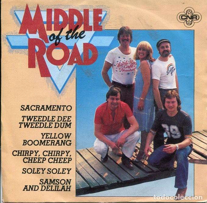 MIDDLE OF THE ROAD / MEDLEY / POSTCARD (SINGLE 1981) (Música - Discos de Vinilo - Singles - Pop - Rock Extranjero de los 80)