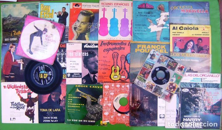 LOTE 24 SINGLES Y EP INSTRUMENTALES - VER (Música - Discos - Singles Vinilo - Clásica, Ópera, Zarzuela y Marchas)