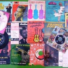 Discos de vinilo: LOTE 24 SINGLES Y EP INSTRUMENTALES - VER. Lote 215019956
