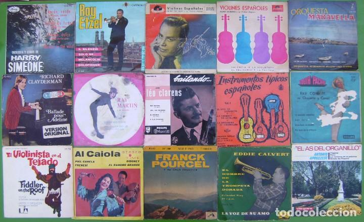 Discos de vinilo: Lote 24 singles y Ep Instrumentales - VER - Foto 2 - 215019956