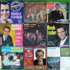 Discos de vinilo: LOTE DE 15 SINGLES Y EP DE MANOLO ESCOBAR 3. Lote 215025150