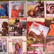 Discos de vinilo: LOTE 13 SINGLES (MANOLO OTERO, PIC NIC, SANTABARBARA, MADALENA IGLESIAS, TRINIDAD, NUBES GRISES,. Lote 215028975